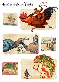 Fantasy Creatures, Mythical Creatures, Character Inspiration, Character Design, Classical Art Memes, Giant Animals, Beast Creature, Witch Art, Grafik Design