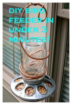 Bird Feeders for George's Garden