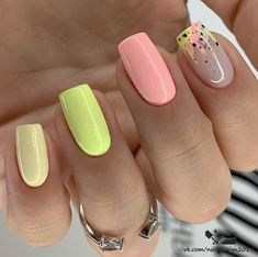 Acrylic Nails Coffin Short, Best Acrylic Nails, Nagellack Design, Short Square Nails, Chic Nails, Fire Nails, Pretty Nail Art, Pretty Short Nails, Dream Nails