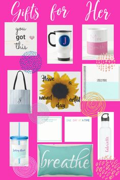 These are just some of the great gift ideas for friends, family members, co-workers, etc. They are sure to bring a smile to any girl or woman's face! DAILY DEALS #giftsforher #personalizedgifts #giftideas #giftsformom #giftforgirls #personalizedgifts Natural Parenting, Good Parenting, Parenting Hacks, All Family, Friends Family, Special Kids, Mummy Bloggers, Thirty One Gifts, Christmas Gifts For Women