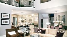 Toll Brothers The Magnolia Living/Dining Room