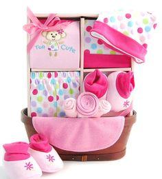 Precious Baby Girl Gift Basket