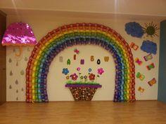#rainbow #sun #rain #flowers #kindergarten #preschool