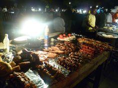 nightly seafood BBQ in Forodani Gardens = heaven Seafood Bbq, Out Of Africa, Heaven, Gardens, Sky, Heavens, Outdoor Gardens, Paradise, Garden