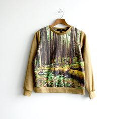 "The ""Lush"" Sweatshirt - Forest Photo Print - Niels Kierulf Collaboration"
