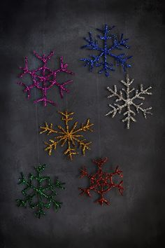 This little pink snowflake was one of the first things I added to my Christmas board  on Pinterest when I first created it a few years bac...