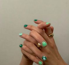 Likes, 72 Comments - max 🐉 fashion Funky Nails, Dope Nails, Trendy Nails, Swag Nails, Colorful Nails, Grunge Nails, Cute Acrylic Nails, Gel Nails, Acryl Nails