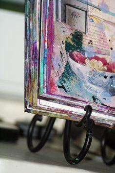 journals art pink soul studios | mixed media art