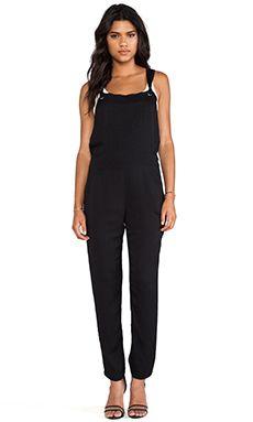 Super chic black jumpsuit