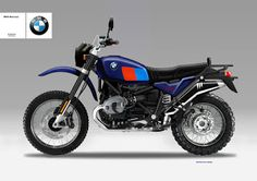 Motosketches: BMW R120 GS HERITAGE