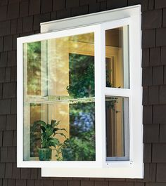 Garden Window Windows Extend Out From The House And Generally Have An Interior Shelf