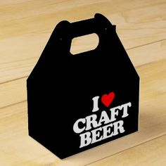 I LOVE CRAFT BEER PARTY FAVOR BOX