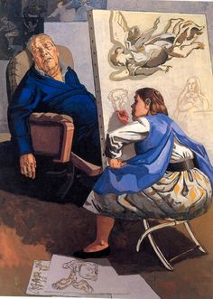 Joseph's Dream, 1990. Acrylic on paper on canvas, 1990 | Paula Rego