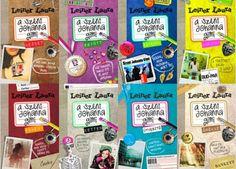 Nézd meg az új és a régi Leiner Laura borítókat és szavazz! - Deszy könyvajánlója Reading, Books, Color, Libros, Book, Colour, Reading Books, Book Illustrations, Libri