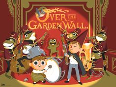 """""""Over the Garden Wall"""" by George Bletsis"""