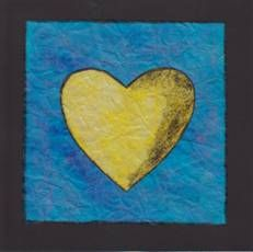 Srdce z průklepového papíru
