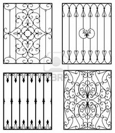 wrought iron designs … Más Más