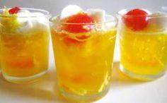 Pina Colada Jell-o shots