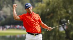 #BillyHorshel…#BMWChampionship...Billy Horschel had plenty to celebrate about on Saturday at the BMW Championship after carding seven birdies, including five on the back nine, to take the clubhouse lead by three strokes at 13-under. (Doug Pensinger/Getty Images)