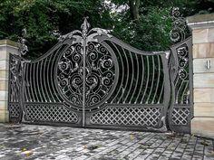 Cancelli artistici in ferro battuto cancello artistico for Planimetrie hacienda