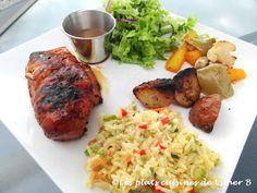 Les plats cuisinés de Esther B: Marinade pour poulet Olives, Esther, Vinaigrette, Meat, Chicken, Food, Sauces, Balsamic Vinegar, Olive Oil Extra Virgin