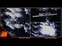Rain | After Effects template