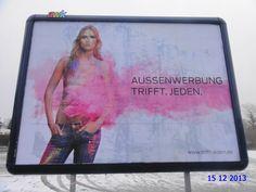 212. - Plakat in Stockach. / 15.12.2013./