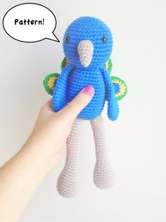 Hey, I found this really awesome Etsy listing at https://www.etsy.com/listing/161466932/amigurumi-peacock-pattern