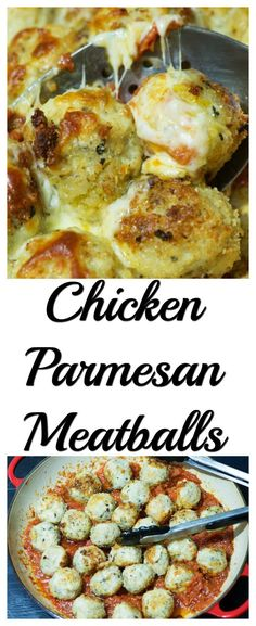 Baked chicken meatballs with parmesan in a flavorful tomato base and topped with mozzarella are great for a healthy weeknight dinner. Entree Recipes, Dinner Recipes, Kraft Recipes, Fall Recipes, Dinner Ideas, Breakfast Recipes, Dessert Recipes, Vegan Ground Beef, Ground Beef Recipes