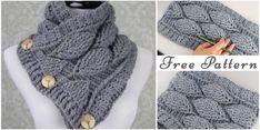 Leaf+Cowl+–++Free+Crochet+Pattern