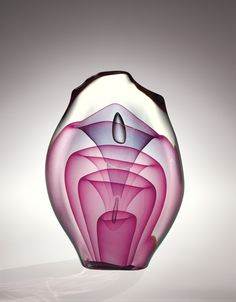 Emergence Four-Stage, Dominick Labino, United States, Grand Rapids, OH, 1975.