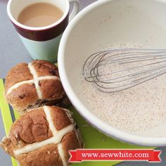 Sew White Hot Cross Bun French Toast