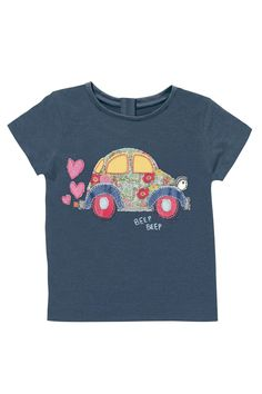 Buy Navy Car Tshirt (3mths-6yrs) from the Next UK online shop