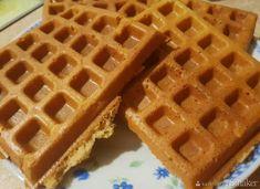 Bezglutenowe gofry ryżowe - przepis ze Smaker.pl Waffles, Breakfast, Food, Morning Coffee, Essen, Waffle, Meals, Yemek, Eten