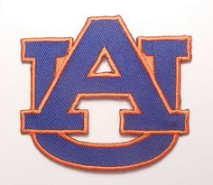 Auburn University Tigers AU College Letters by AmericanPatch 2.99 and .99 shipping