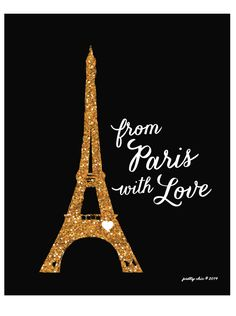 from Paris with love Print