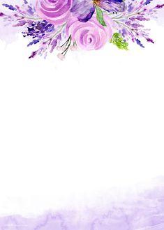 – # bandposterdesigns … – About Graphic Design Purple Flowers Wallpaper, Flower Background Wallpaper, Flower Backgrounds, Watercolor Background, Watercolor Flowers, Wallpaper Backgrounds, Cute Wallpapers, Iphone Wallpaper, Art Floral
