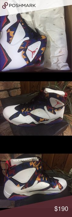 Air Jordan 7 Retro size 12 Air Jordan 7 Retro size 12 for man. This is brand new, never used. I got it for my oldest son and he doesn't like them. Air Jordan Shoes Sneakers
