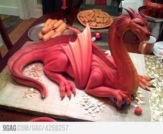 C'est un gâteau ! Je n'oserai même pas l'entamer tellement il est bien fait. :D