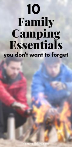 Family Camping Essentials Essential Items for Camping with Kids) 10 family camping essentials you don't want to forget. Essentials for camping with kids. Family camping, family camping shirts, family camping essentials, family camping quotes, family ca Camping Activities, Camping Meals, Camping Tips, Outdoor Camping, Camping Recipes, Camping Stuff, Camping Checklist, Camping With Kids, Family Camping