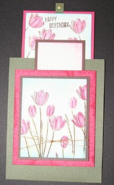 Splitcoaststampers - Double Slider Card Project Tutorial by Beate Johns