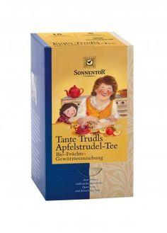 Sonnentor Tante Trudls Apfelstrudel-Tee bio, Doppelkammerbeutel