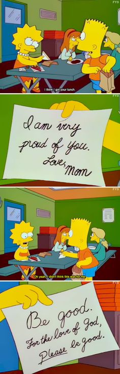 To Cheer Someone Up. 52 Funny Simpsons Jokes That You Can't Help But Laugh At - Funny Gallery Simpsons Funny, Simpsons Quotes, The Simpsons, Funny Cute, The Funny, Hilarious, Daily Funny, Futurama, Funny Jokes For Kids