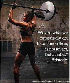 Make excellence a habit. #MondayMotivation