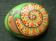 Painted rock_snail
