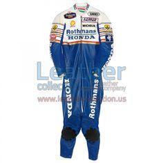 Freddie Spencer Rothmans Honda GP 1986 Leather Suit - https://www.leathercollection.us/en-we/freddie-spencer-rothmans-honda-gp-1986-leather-suit.html
