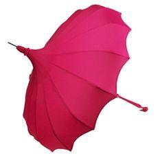 I would love a Pagoda Umbrella! Bella Umbrella designed the Sex and the City 2 umbrella.