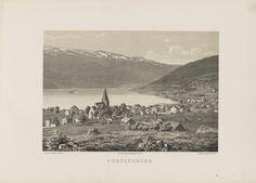Norge fremstillet i Tegninger - Ukjent - Vossevangen. jpg (6080×4360))