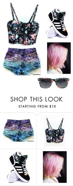"""Untitled #42"" by bloodyrabbit197 ❤ liked on Polyvore featuring adidas and Free People"