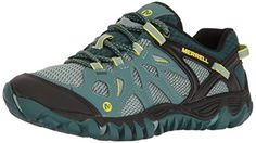 Merrell Womens All Out Blaze Aero Sport Hiking Shoe Sea Pine 8 M US >>> Be sure to check out this awesome product.
